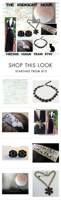 """""""THE MIDNIGHT HOUR"""" by lunasvintagedesigns ❤ liked on Polyvore featuring WALL, Sirius and vintage"""