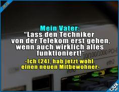Das kann dauern! #Telekom #Sprüche #lachen #Humor #lustigeSprüche #Statusbilder #Jodel