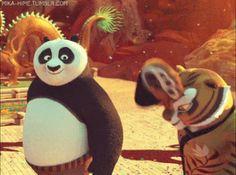 background/subtle things in the kung fu panda franchise [[ 001 / infinite ]] Tigress Kung Fu Panda, Po And Tigress, Dreamworks Animation, Disney And Dreamworks, Master Oogway, Panda Gif, Panda Images, Harry Potter Fandom, Disney Junior
