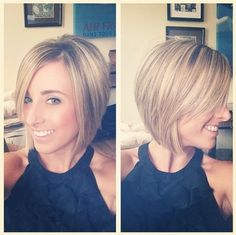 Pretty Bob Hairstyle - Short Haircuts 2015