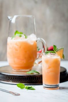 Melon and Strawberry Agua Fresa #agua #water #fruit