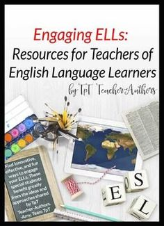 Filled with activities and ideas you can use right away, this sampler includes 20 freebies that address the needs of English Language Learners at beginning, intermediate, and advanced levels of English language proficiency.  Written by TpT teacher-authors