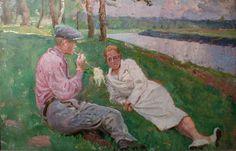 Boris Ye. Vladimirsky : Rendezvous. The 1920s Свидание. 1920е