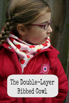 double layer bibbed cowl by kitschycoo, via Flickr