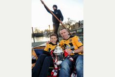 Cambridge United v Manchester United: Cottenham youngster Lewis Burkett goes punting with Scudamore's, taking The FA Cup with him as football fever grips city.  www.scudamores.com