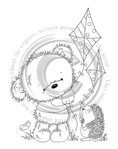 Tatty Teddy, Teddy Bear, Go Fly A Kite, Whimsy Stamps, Bear Cartoon, Cute Images, Digital Stamps, Bears, Card Making