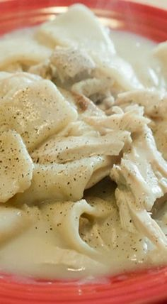 Southern-Style Chicken and Dumplings Recipe.