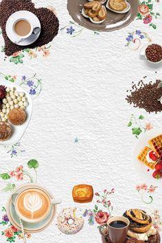 ฝ้าย กรอบ อาหาร ออกแบบ พื้นหลัง Food Background Wallpapers, Food Wallpaper, Food Backgrounds, Background Images, Food Menu Design, Food Poster Design, Coffee Art, Coffee Shop, Cheap Coffee Maker