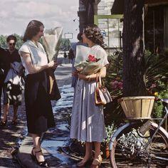 Vintage Home Decor Fashionable Paris Women Shop by eeBeeVintage