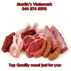 Remember to stock up for all your favourite meat dishes with top grade quality meat from Martin's Vleismark. #butcher #lovemeat