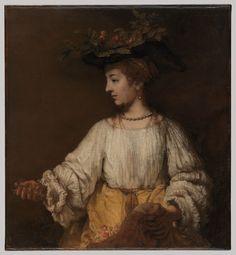 Flora - Rembrandt van Rijn (1606–1669)