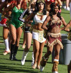 NFL Cheerleaders Halloween Costumes Cheerleader Halloween Costume, Halloween Costumes, Football Cheerleaders, Cheerleading, Sports Equipment, Professional Cheerleaders, Ideas Para, Fashion, Bonito