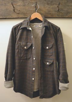 Post O'alls - Cruzer Shirt 3 Velva Sheen - Crew Neck Sweat Shirt