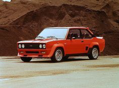 I love all the old rally homogolation specials, the ultimate expression of form follows function. The Fiat Abarth 131 is not as well known as some of the others, but definately badass.