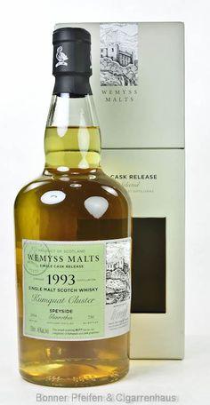 """Glenrothes Whisky 1993 """"Kumquat Cluster"""" Wemyss Malt. Distilled : 1993 Bottled : 2014 Flaschenanzahl : 730"""