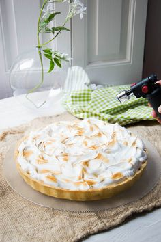 Lemon Curd Thermomix, Lemon Pie Receta, Lemond Curd, Pie Decoration, Pie Cake, Dessert Recipes, Desserts, Sweet Recipes, Cake Decorating