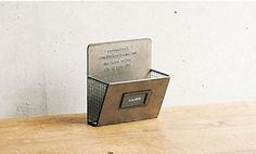 Handmade Geshmack Wall Mounted Mail Organizer Single Slot * Visit the image link more details.