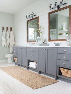 Tapis De Bain Antidéparant Country Bathroomsfarmhouse Bathroomskid Bathroomslake House