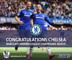3 May A win on Crystal Palace confirms a Premier League title for CHELSEA. Manchester United City, Newcastle United Fc, Chelsea Champions, We Are The Champions, Chelsea Blue, Chelsea Fans, Chelsea Football Club, Football Team, Villa Fc