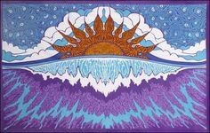 Sunset Wave - Tapestry, 60 in. x 90 in., SKU: 005165