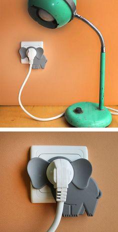 Cet accessoire pour habiller vos prises électriques