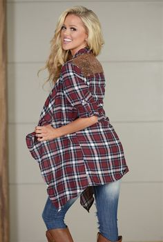 All That Glitters Sequin Plaid Cardigan from Closet Candy Boutique use code REPSAM for 10% off #fashion #shop