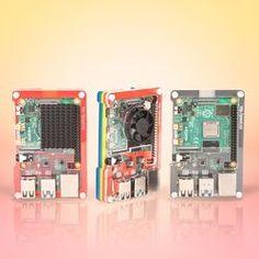 Pimoroni: OD male to tinned wires cable meter - Motion Sensor Breakout - Enviro+ Air Quality - Enviro for Raspberry Pi - Pirate Audio Arcade, Audio, Cast Acrylic, Raspberry, Display, Mini, Layers, Rainbow, Base