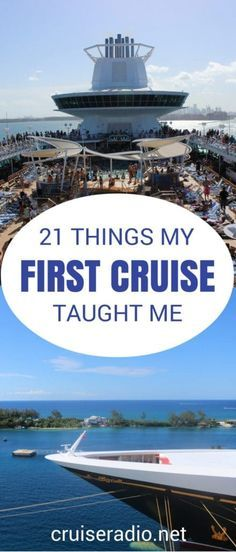 Your first cruise ca
