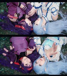 ☆ #CosplayStyle☆ [SAO] Yuuki & Asuna - Sword Art Online (Mother's Rosario) by HIKO (ひこ)