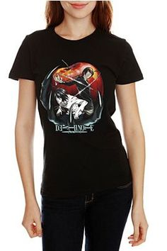 Death Note Apple Girls T-Shirt  $22.50. Proud owner of this shirt ....