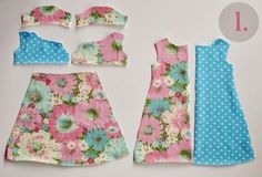 Free doll dress to go with Everyday Dress :: Love Notions. Absolutely wonderful patterns and this free pattern is a real treat! Sewing Doll Clothes, American Doll Clothes, Sewing Dolls, Girl Doll Clothes, Barbie Clothes, Ag Dolls, Girl Dolls, Barbie Barbie, Girl Clothing