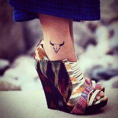 small Taurus sign tattoo #zodiac #ink #youqueen #girly #tattoos #Taurus