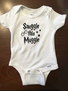 My best friend made this!!! I love it!!! Harry Potter Themed Onesie