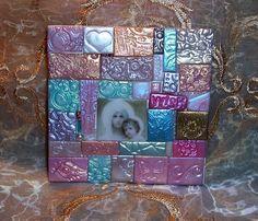 Polymer Clay Madonna Mosaic by ValerianaSolaris on DeviantArt