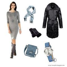 lovely.life ♥: #Fashion - Ein Outfit für die kalten Tage Shopping Queen, Outfit Zusammenstellen, Pullover, Mantel, Lifestyle Blog, Image, Fashion, Warm Dresses, Dress Winter
