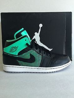 fbbfd30baec8 DS Nike Air Jordan 1 I Retro 89 Green Glow Size 11 - Chubster favourite ! -  shoes for men - chaussures pour homme -