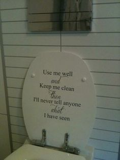 Veggord - Use me well and keep me clean Use Me, Me Clean, Decorative Plates, Wellness, Cleaning, Sayings, Home Decor, Decoration Home, Lyrics