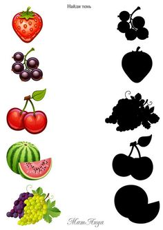Fruit & Vegetable Shadow Match Puzzle and Clip Card Pack Preschool Learning Activities, Free Preschool, Kindergarten Worksheets, Worksheets For Kids, Preschool Activities, Kids Learning, Activities For Kids, Animal Worksheets, Shapes Worksheets