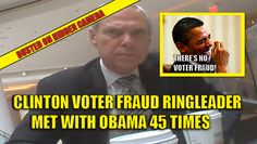 The man who is the ringleader of the Democrat and Clinton Campaign voter fraud scheme revealed in the shocking hidden camera video went to the White House well over 200 times. But even more shocking, he met PERSONALLY with Barack Obama 45 times. Watch the hidden camera voter fraud video: We've now discovered that Bob Creamer, a convicted felon and the RINGLEADER of the Clinton/Democrat voter fraud scheme met with Obama 45 times. Meanwhile, Obama is stuttering all over the place and…