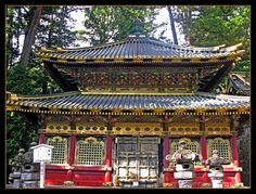 There are many wonderful temples in Japan, both shinto and Buddhist. The most beautiful is Tosho-gu in Nikko.   Nikko is a town at the entrance to Nikko National Park, famous for Toshogu, Japan's most lavishly decorated shrine and mausoleum of Tokugawa Ieyasu, the founder of Tokugawa shogunate.   Nikko had been a center of Shinto and Buddhist mountain worship for many centuries before Toshogu was built in 1600s, and Nikko National Park continues to offer scenic, mountainous landscapes.
