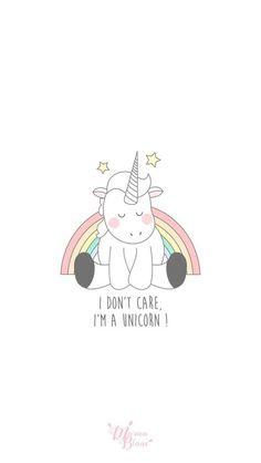 I don't care, I'm a unicorn // No me importa, soy un unicornio