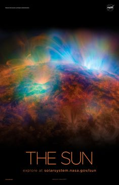 Version B of the Sun installment of our solar system poster series. Sun Solar System, Solar System Poster, Solar System Model, Solar System Tattoo, Solar System Activities, Solar System Exploration, Solar System Projects, Solar System Painting, Solar System Pictures