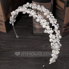 Headbands Wedding Party Rhinestone Alloy 6.3