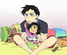 robin teen titans dick grayson ?? mar'i grayson yassart the apartment bros I should start tagging these stupid little series because reasons