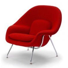 Saarinen Womb Chair by Knoll : Eero Saarinen 1946  #chair #knoll