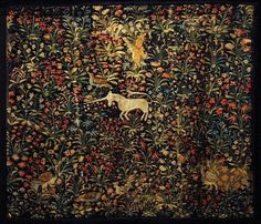 The Last Unicorn tapestry.... I must must must have this in my home!