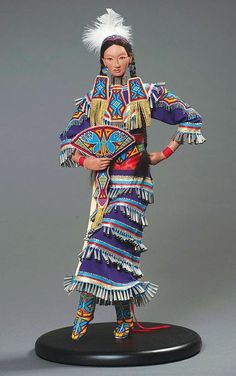 Charlene Holy Bear Lakota Sioux 'Best of Class' Doll Maker
