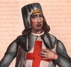 Portrait-Couleur-XIXe-Geoffroi-de-Villehardouin-Aube-Chevalier-Croisade-1836
