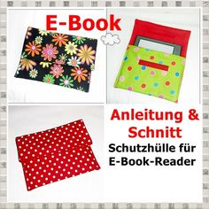 E-Book / Schutzhülle für eBook-Reader - StoffAkzente Taschen und Accessoires
