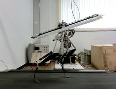 Researchers Build Fast Running Robot Inspired by Velociraptor